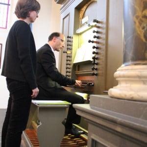 Foto's orgelconcert Pieter van Dijk - 8 november 2014