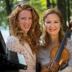Marieke Grotenhuis, accordeon & Cécile Huijnen, viool - zaterdag 14 februari 2015 16:00 uur!